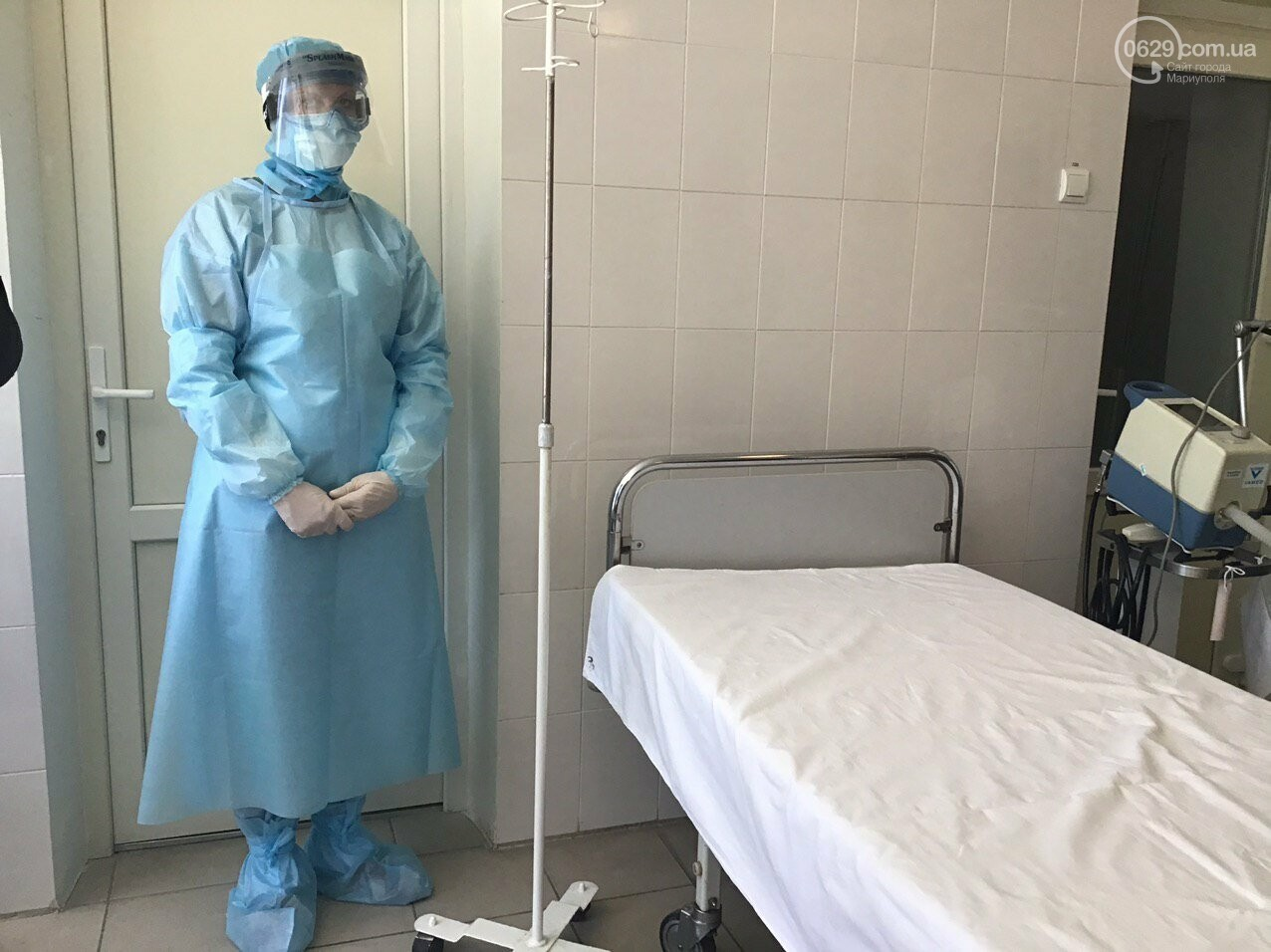 В Мариуполе проверили, насколько больницы города готовы к обострению ситуации с коронавирусом, - ФОТО, ВИДЕО, фото-16
