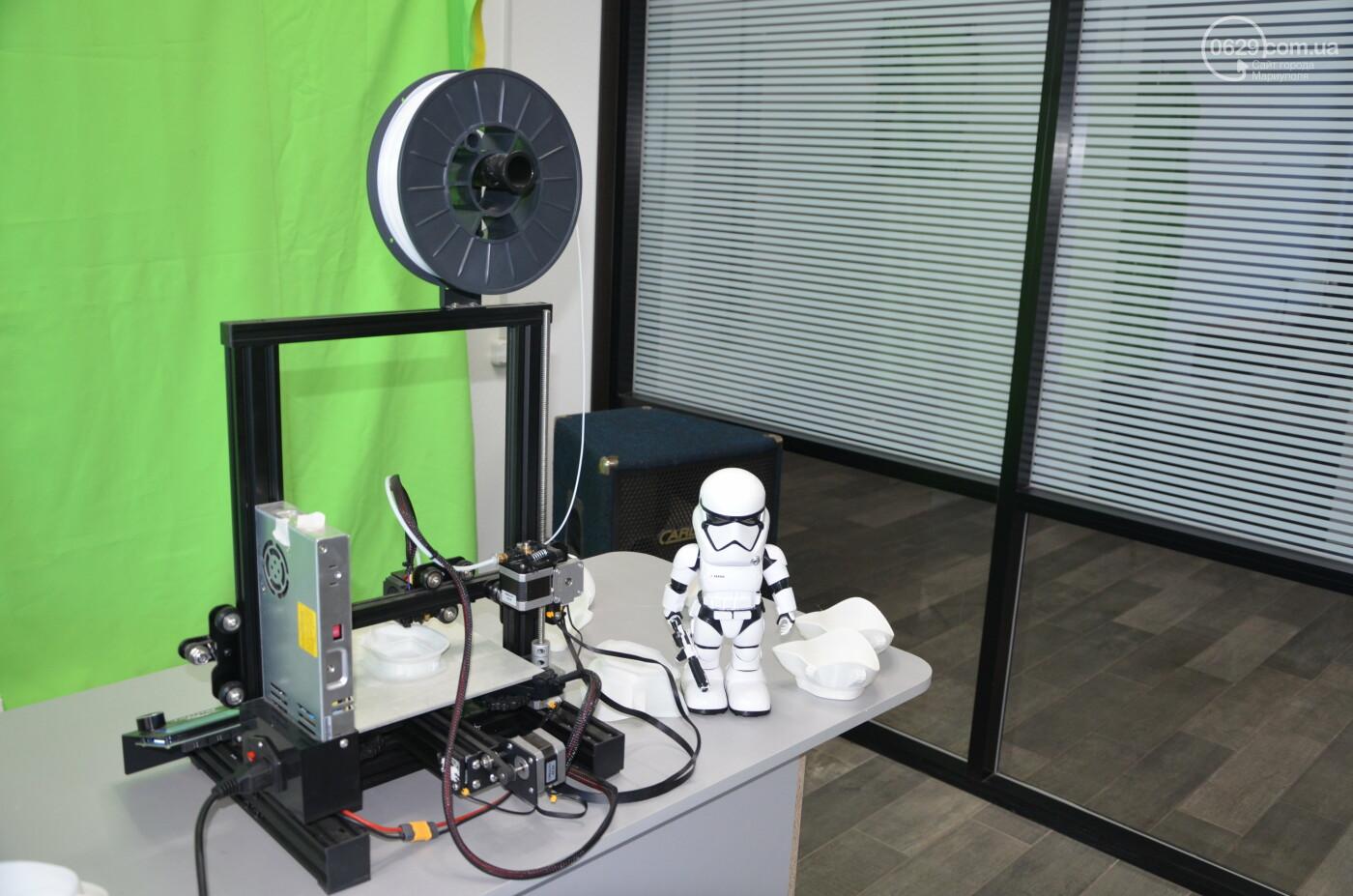 В Мариуполе наладили печать 3Д-масок по китайскому образцу, - ФОТО, ВИДЕО, фото-4