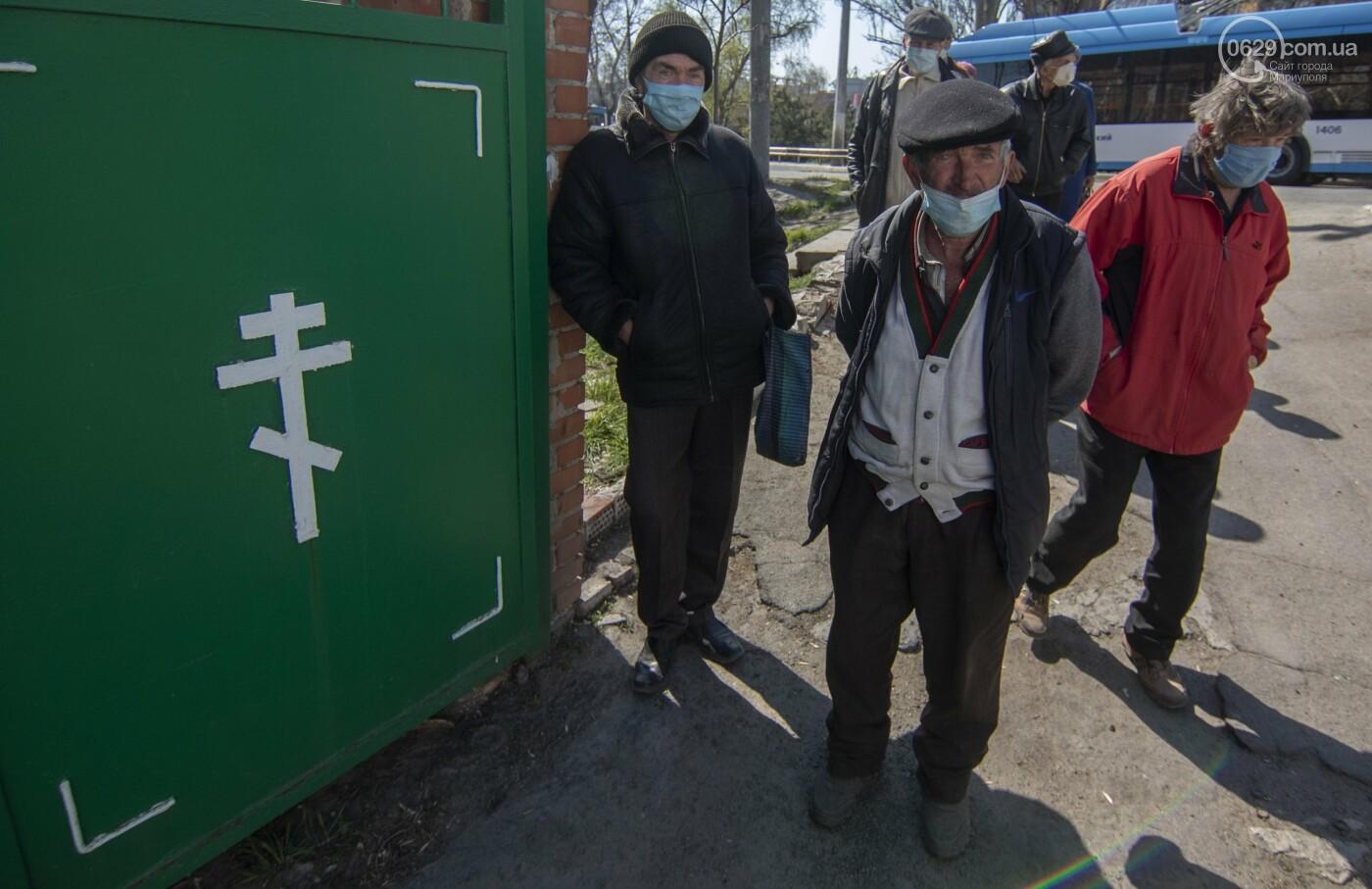 О правилах общежития. Как в Мариуполе кормят голодных и нищих, - ФОТОРЕПОРТАЖ, фото-8