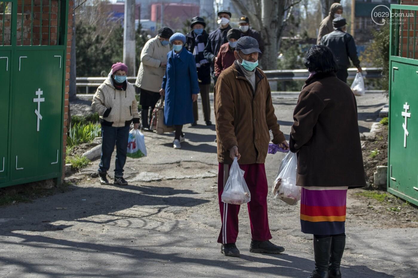 О правилах общежития. Как в Мариуполе кормят голодных и нищих, - ФОТОРЕПОРТАЖ, фото-9