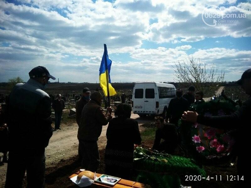 В Мариуполе похоронили экс-добровольца Алексея Симоника, - ФОТО, фото-3