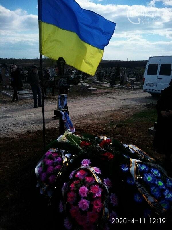 В Мариуполе похоронили экс-добровольца Алексея Симоника, - ФОТО, фото-4