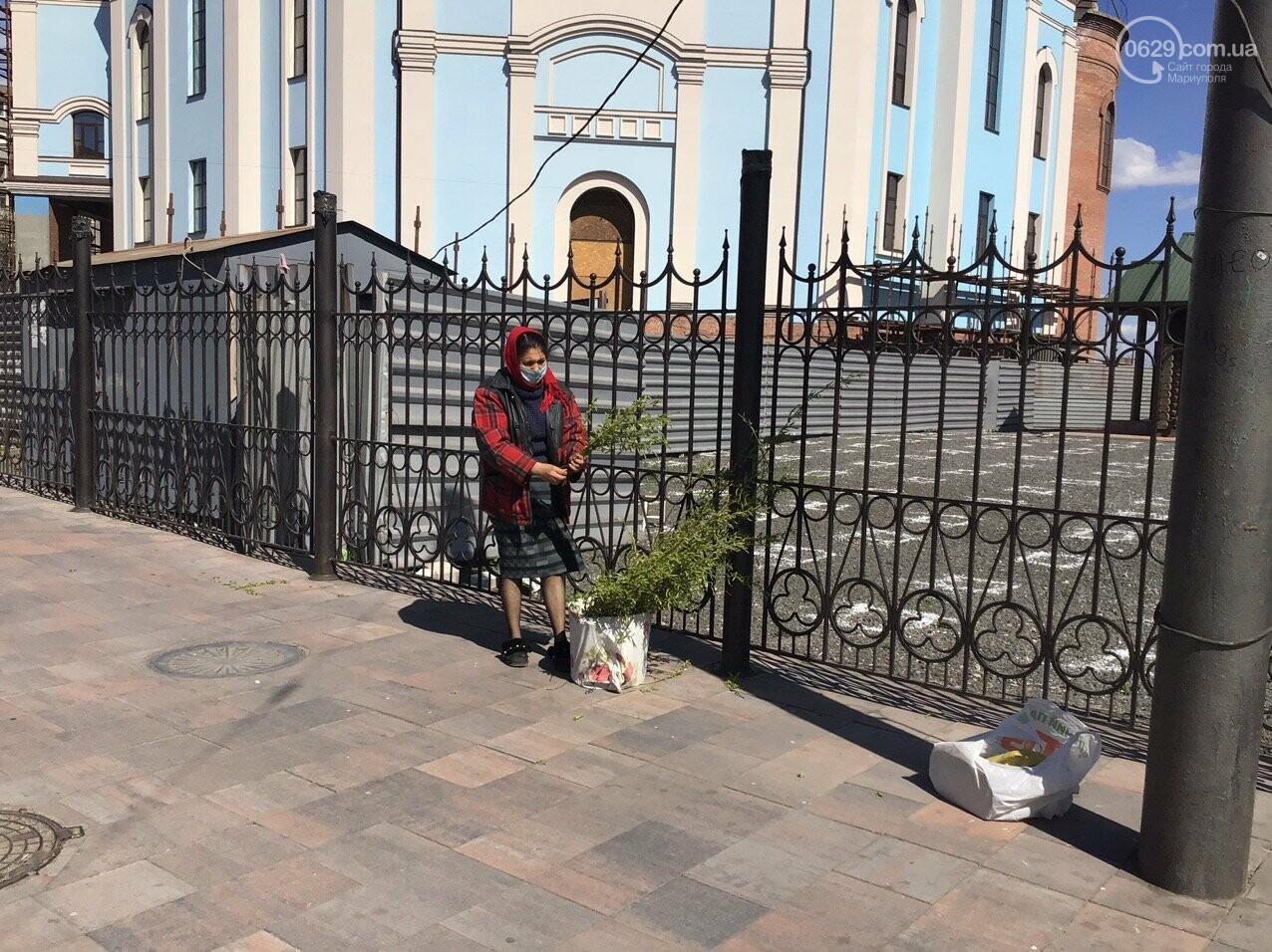 Вербное воскресенье в Мариуполе: как в храмах соблюдают карантин, - ФОТО, ВИДЕО, фото-9