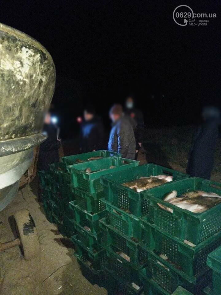 Под Мариуполем выловили камбалу на миллион гривен и отдали полиции,- ФОТО, ВИДЕО, фото-5