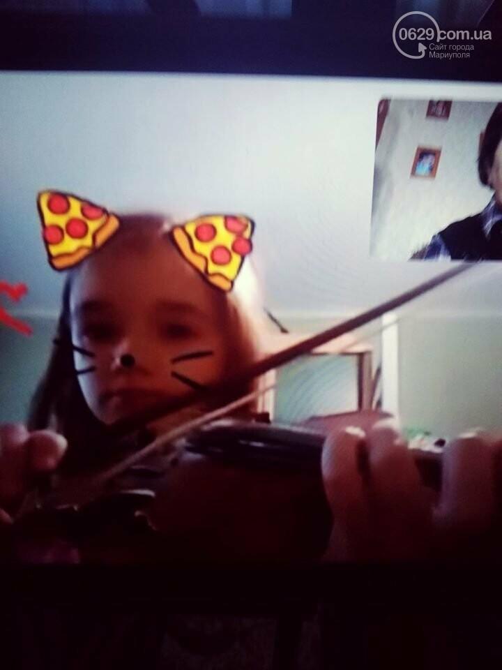 Чудеса карантина. В Мариуполе хореографии и музыке обучают по Интернету,- ВИДЕО, фото-1