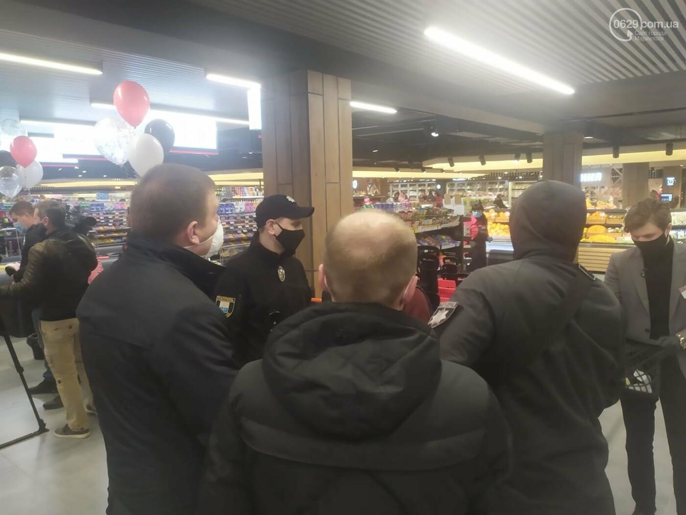 Мариупольцы в нарушение карантина штурмуют новый супермаркет, - ФОТО, ВИДЕО, фото-8