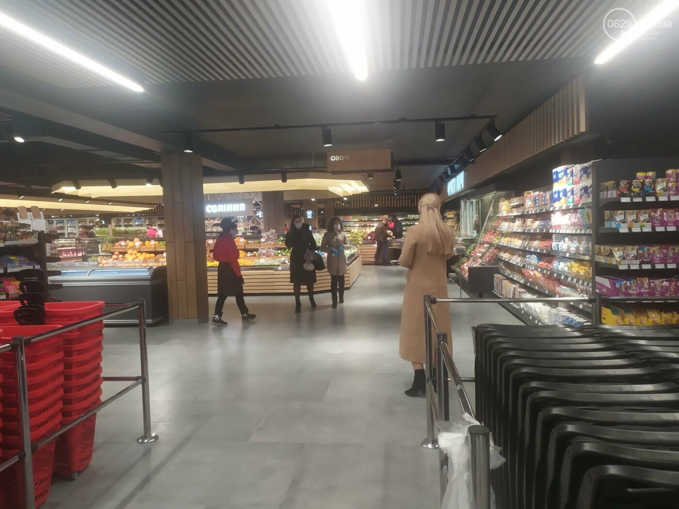 Мариупольцы в нарушение карантина штурмуют новый супермаркет, - ФОТО, ВИДЕО, фото-9