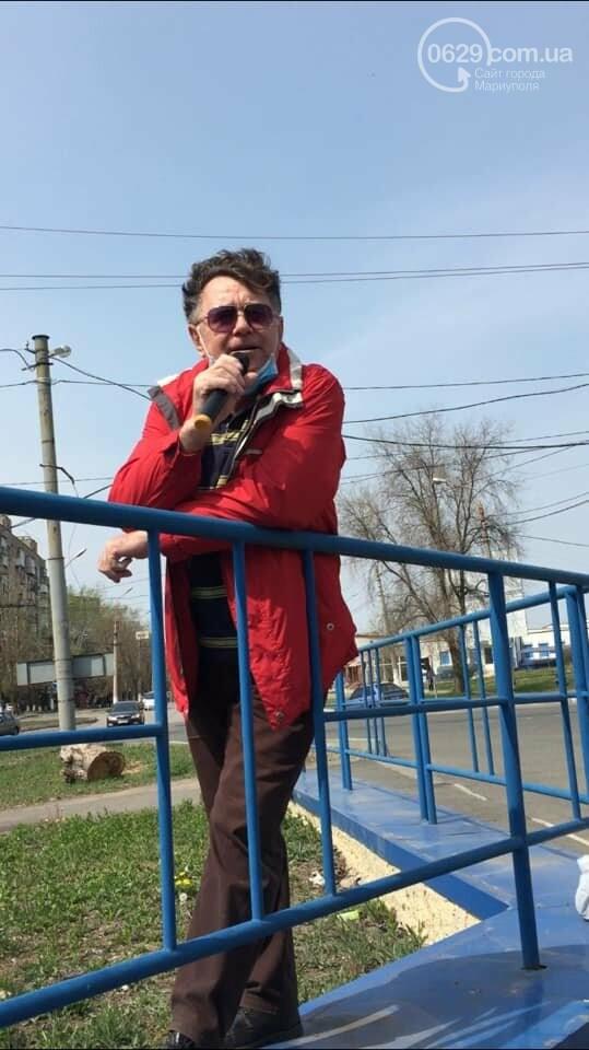 Мариуполец устал от карантина и решил выступить у проезжей части,- ВИДЕО, ФОТО, фото-1