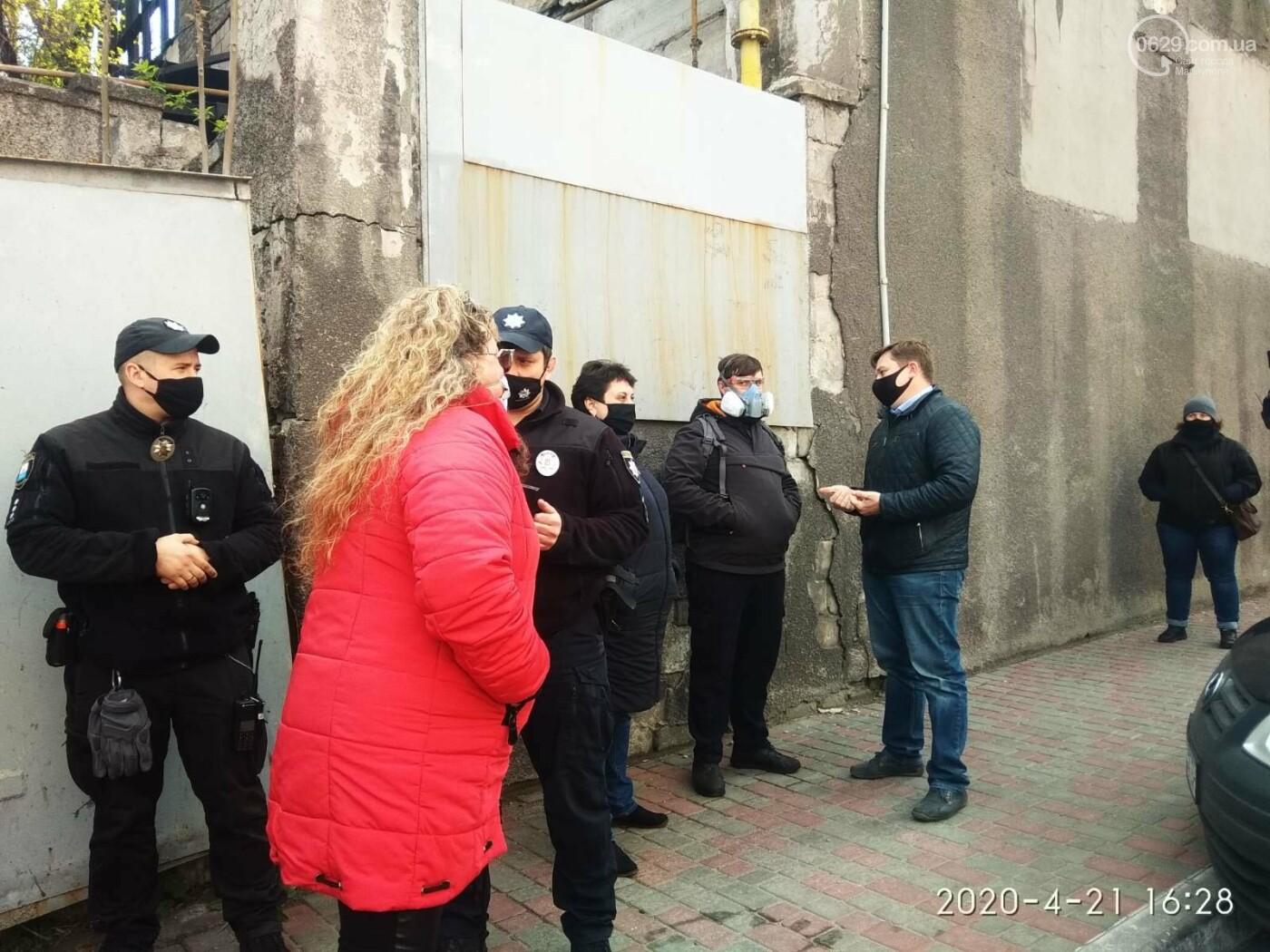 """Мариупольские предприниматели  развернули """"уличную торговлю"""" под стенами мэрии, - ФОТО, фото-2"""