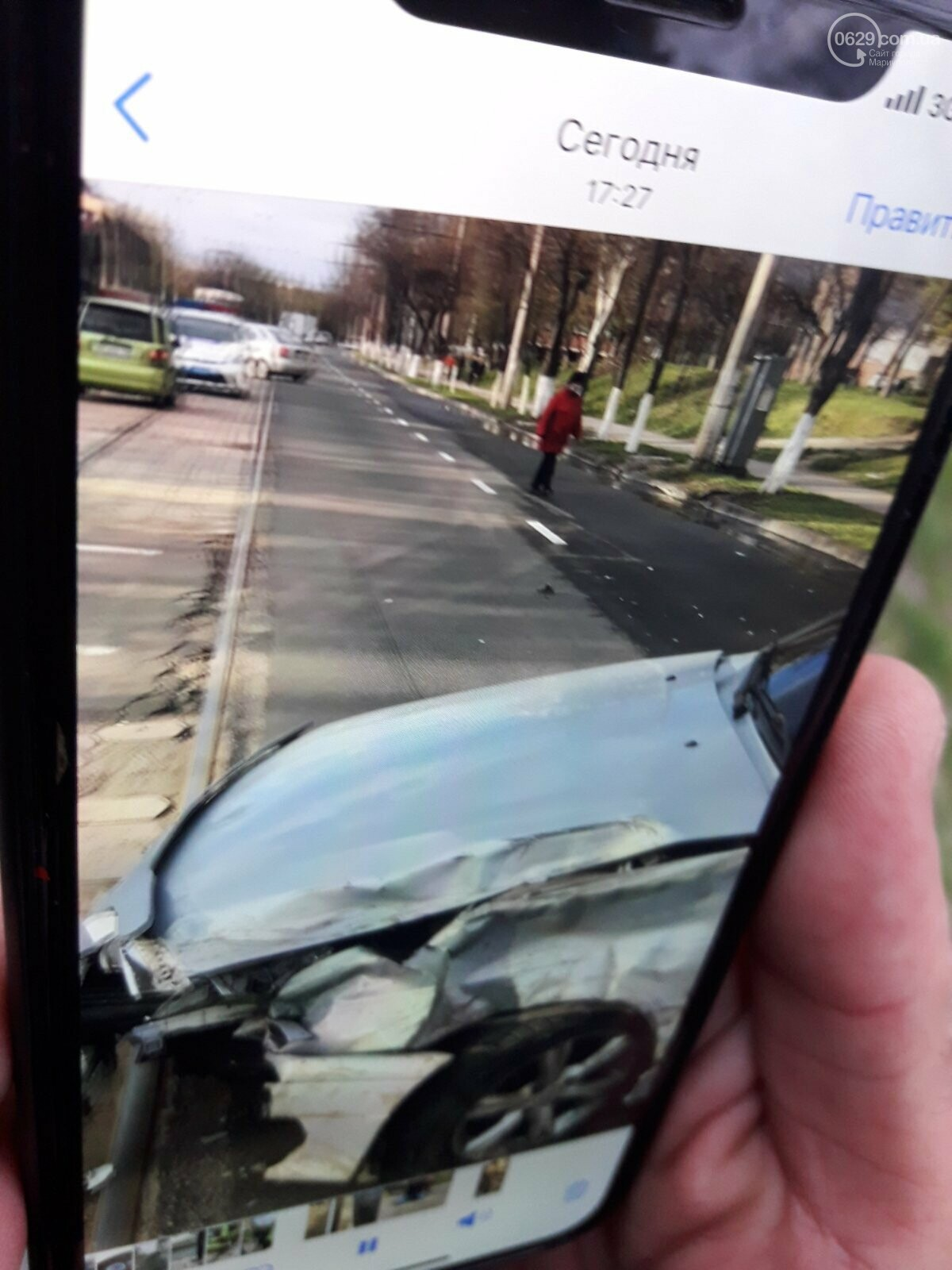 Авария на проспекте Металлургов парализовала движение электротранспорта, - ФОТО, фото-6
