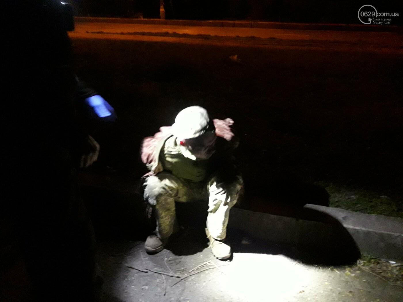 В Мариуполе задержали военного под кайфом с наркотиками в кармане, - ФОТО, фото-3