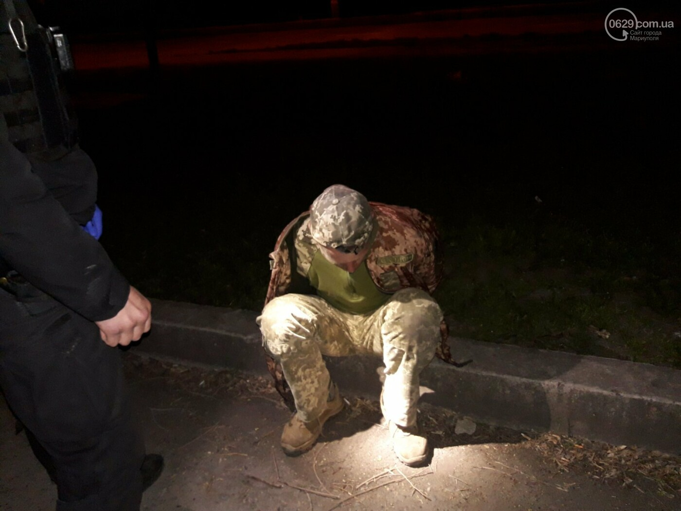 В Мариуполе задержали военного под кайфом с наркотиками в кармане, - ФОТО, фото-1