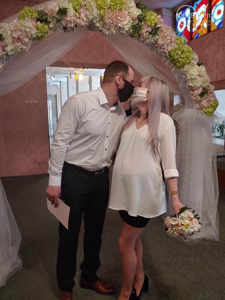 Свадьба в Масках. Мариупольцы женятся, несмотря на карантин, - ФОТО, фото-2