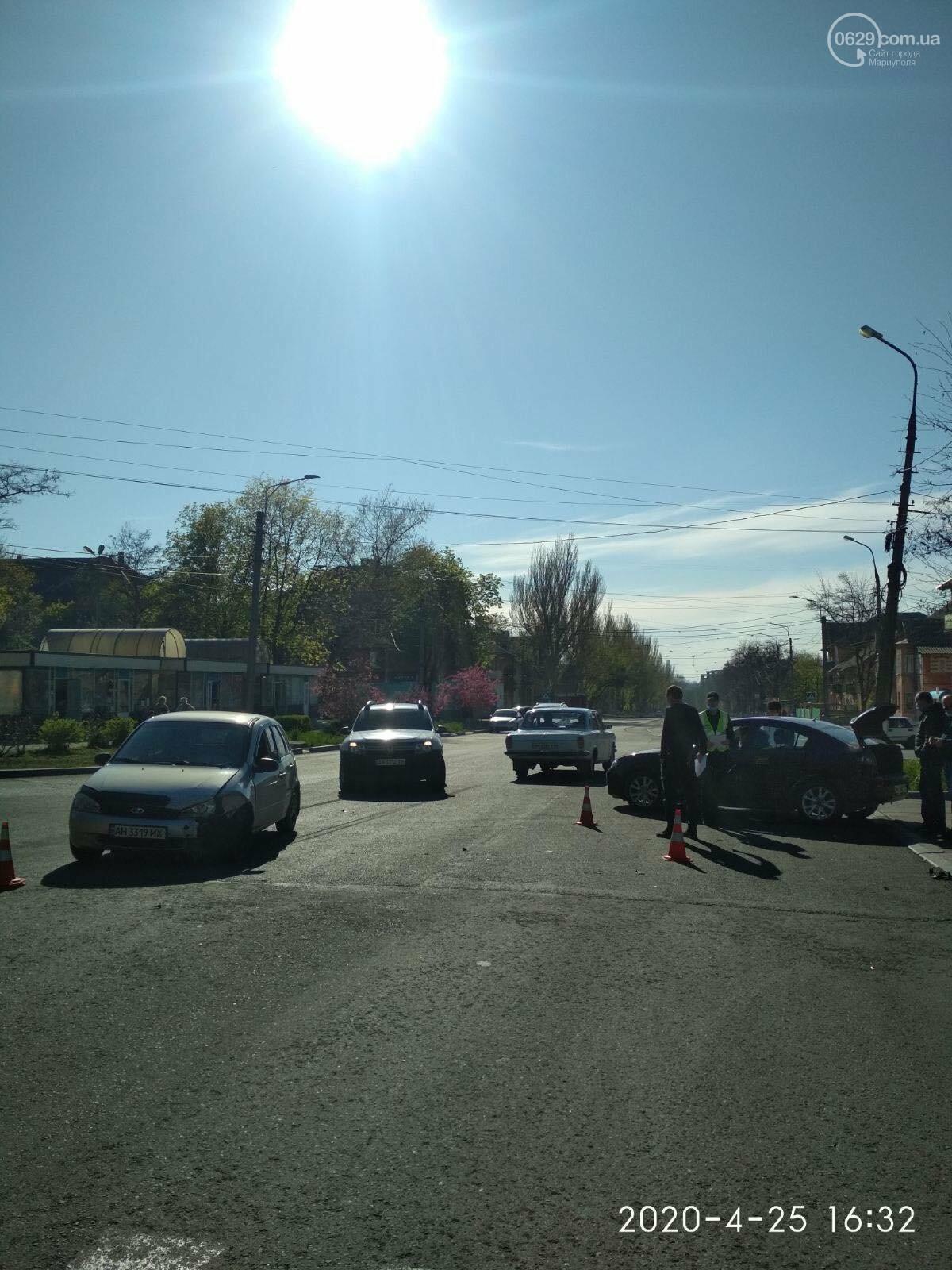 В Левобережном районе в аварии пострадала девушка, - ФОТО, фото-1