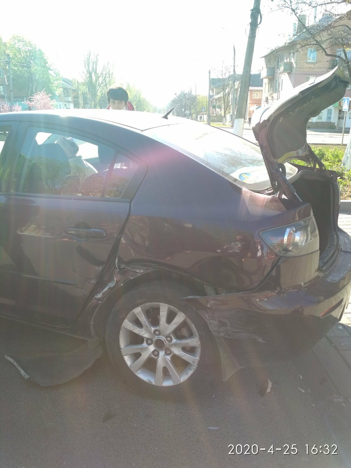 В Левобережном районе в аварии пострадала девушка, - ФОТО, фото-2