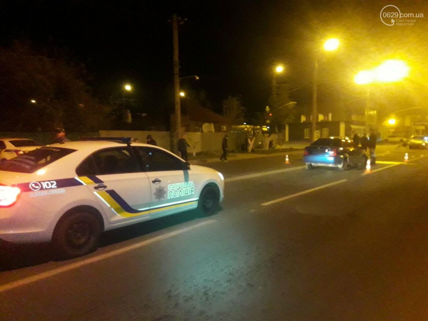 Тройное ДТП в Мариуполе. Есть пострадавший, - ФОТО, фото-2