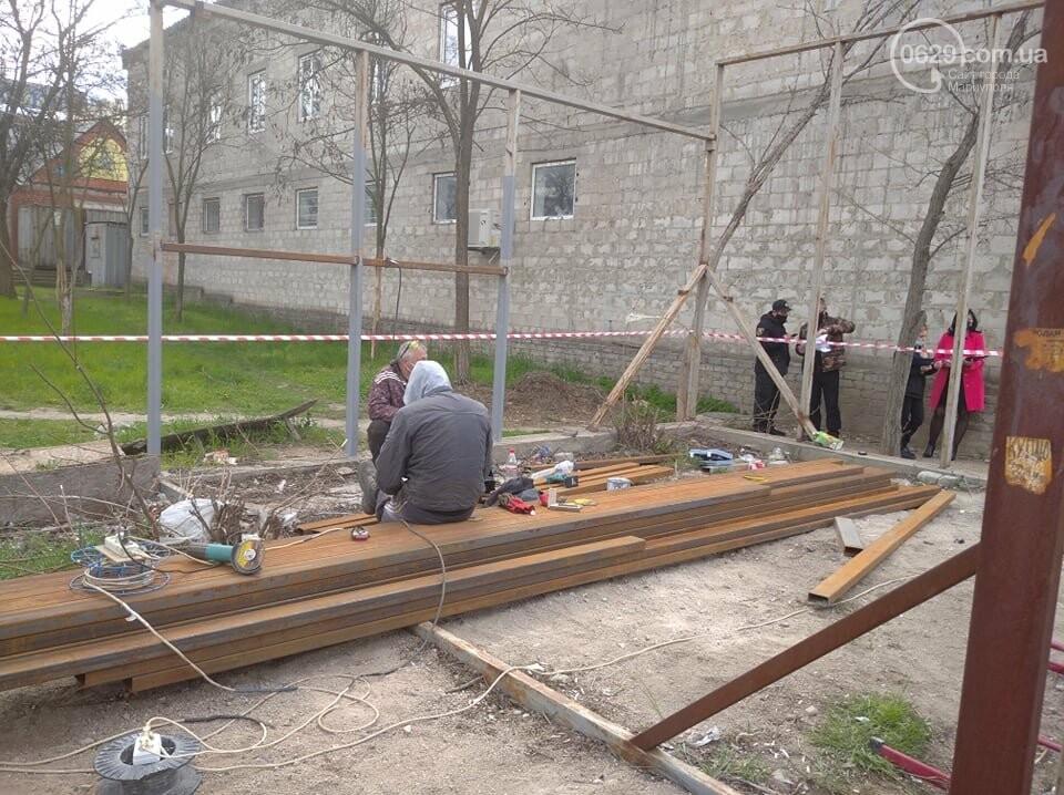 """На Восточном возобновили скандальное строительство в сквере """"Надежда"""", - ФОТО, ВИДЕО, фото-5"""