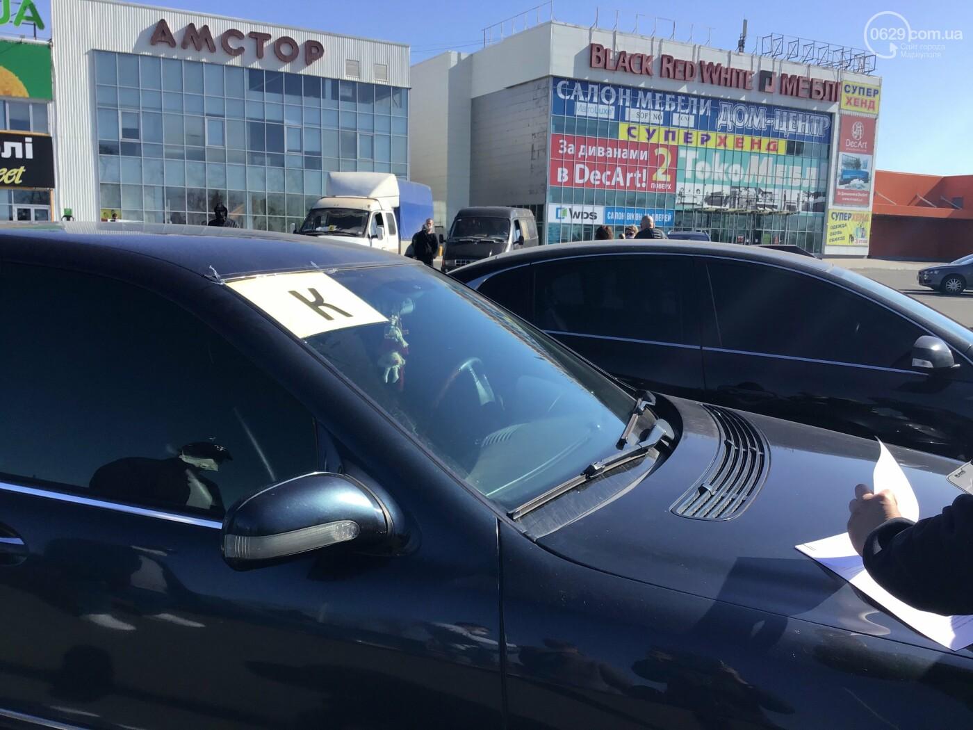 Автопробег в поддержку малого бизнеса: в Мариуполе митинговали машины, - ФОТО, ВИДЕО, фото-10