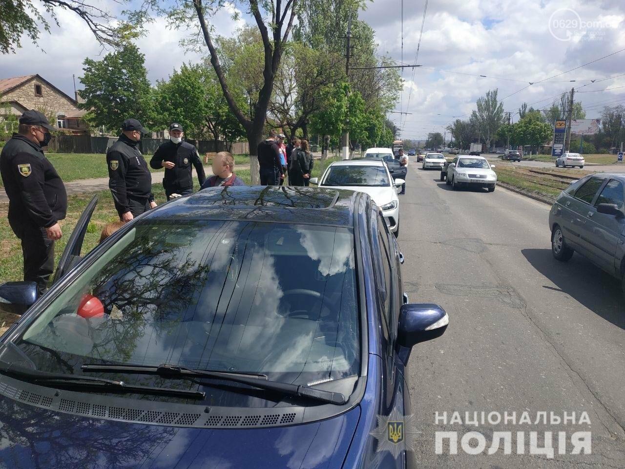 В Мариуполе автоколонну забросали краской, - ФОТО, фото-3