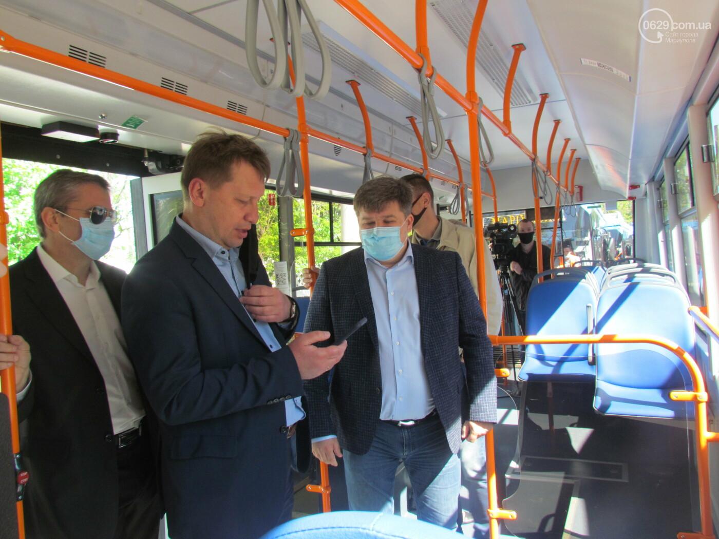 В Мариуполе запустили новый троллейбусный маршрут  , - ФОТО, фото-5