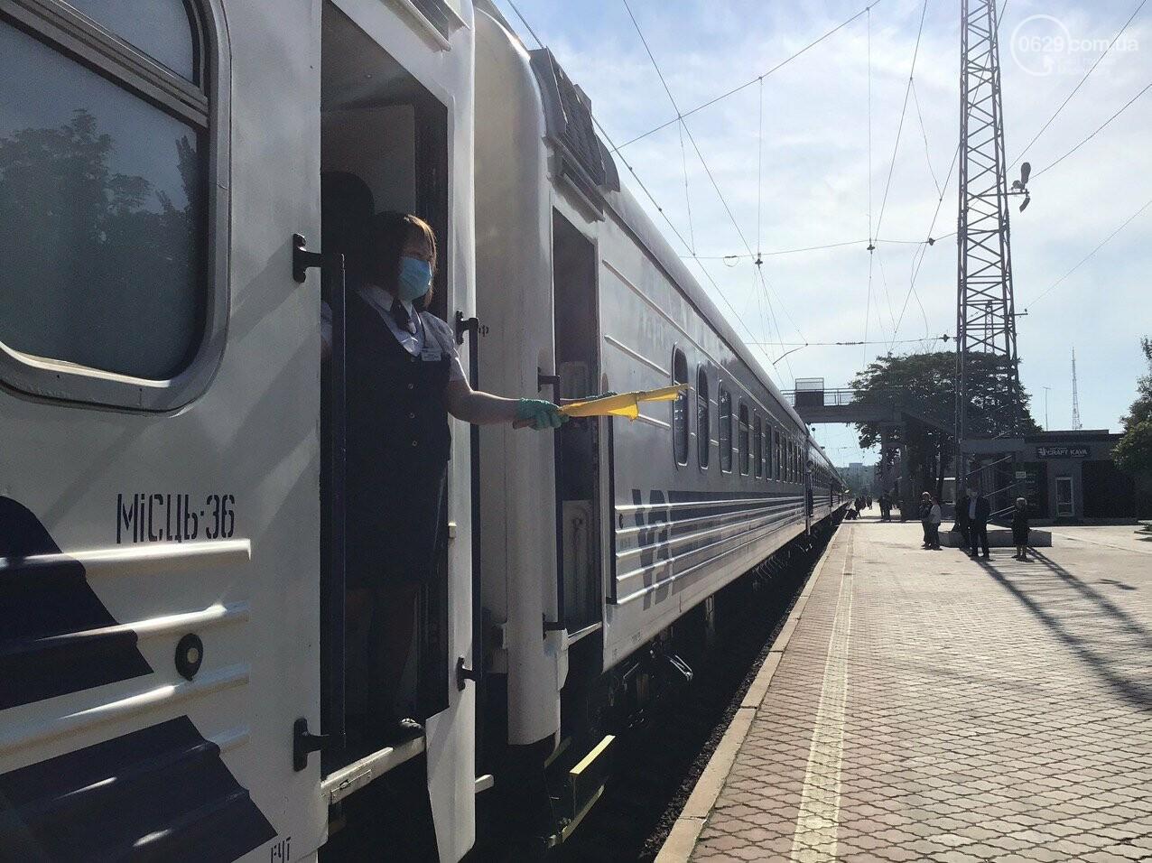 Из Мариуполя отправился первый поезд в Киев, - ФОТОРЕПОРТАЖ, ВИДЕО, фото-11