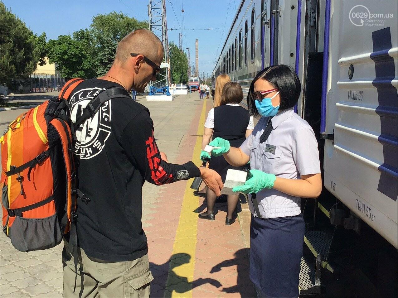 Из Мариуполя отправился первый поезд в Киев, - ФОТОРЕПОРТАЖ, ВИДЕО, фото-1
