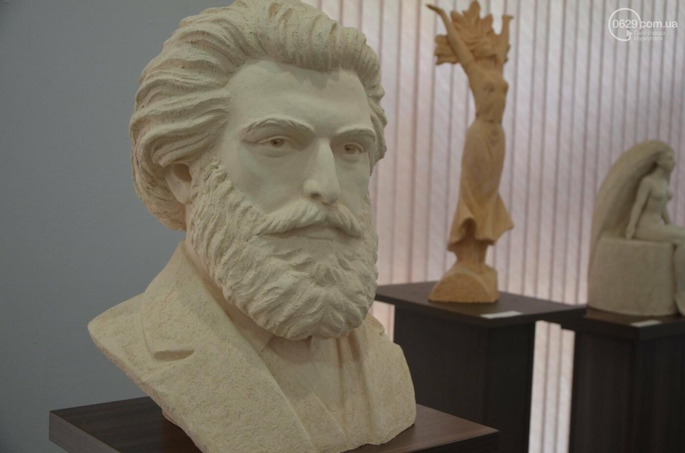 В Мариуполь привезли скульптуры, застрахованные на 4 - 6 тысяч евро каждая, - ФОТО, фото-2