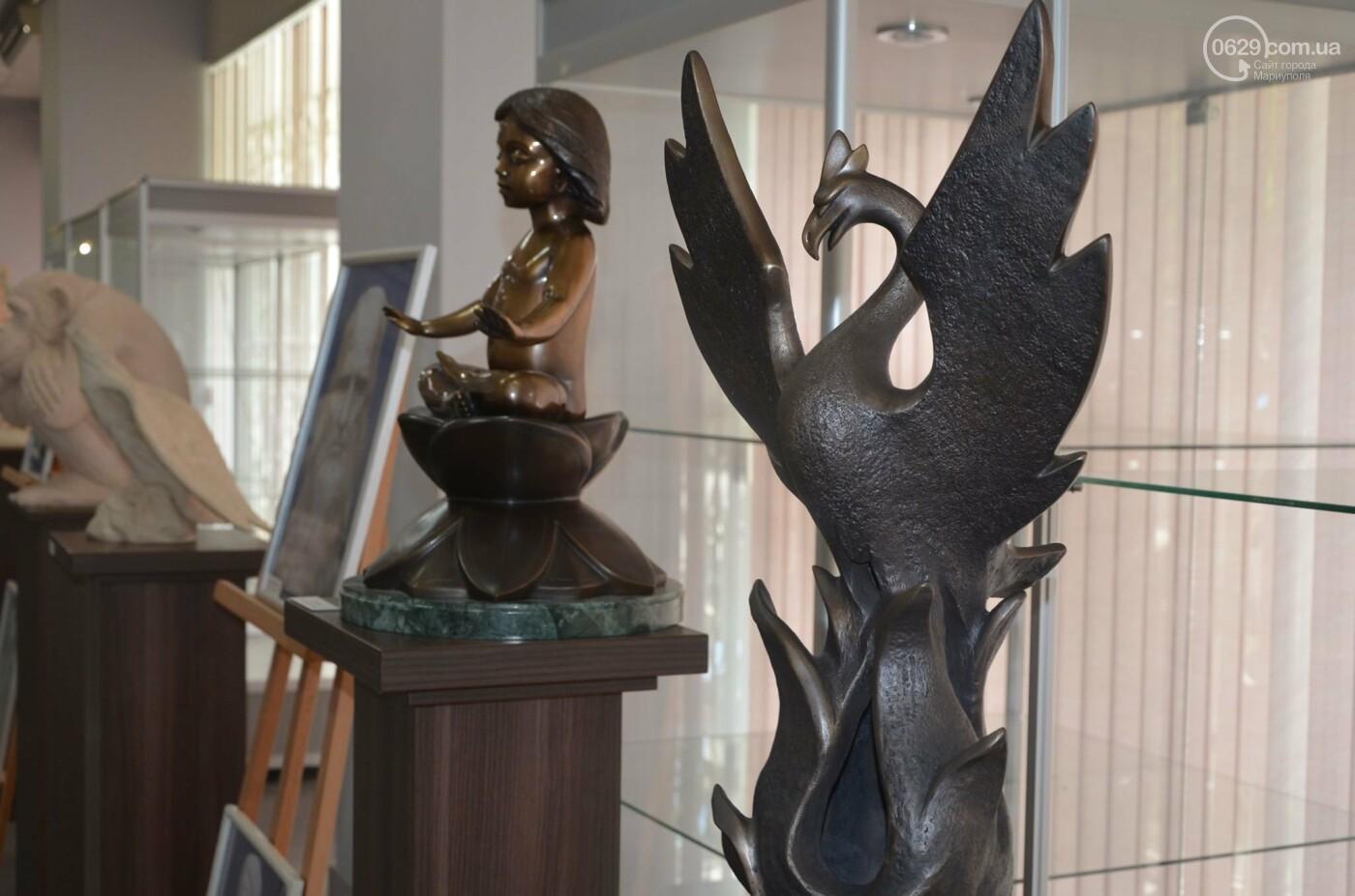 В Мариуполь привезли скульптуры, застрахованные на 4 - 6 тысяч евро каждая, - ФОТО, фото-5