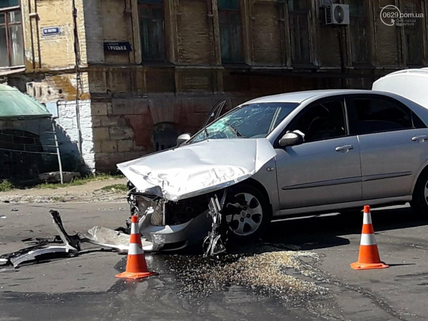 В Мариуполе на опасном перекрёстке в аварии  пострадало 7 человек,- ФОТО, фото-5