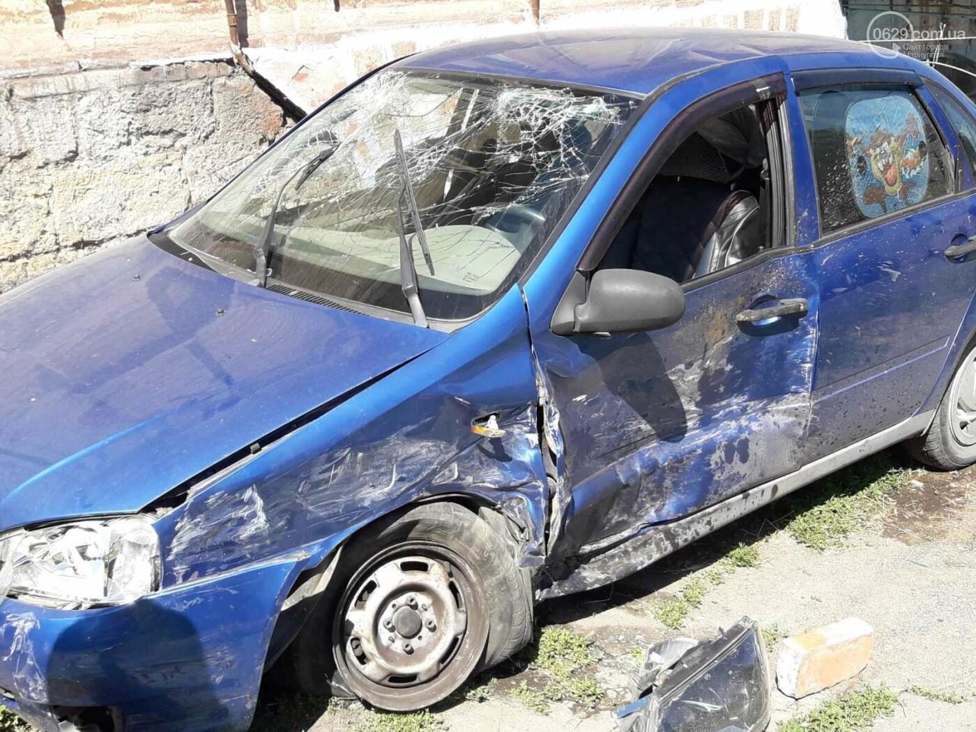 В Мариуполе на опасном перекрёстке в аварии  пострадало 7 человек,- ФОТО, фото-7