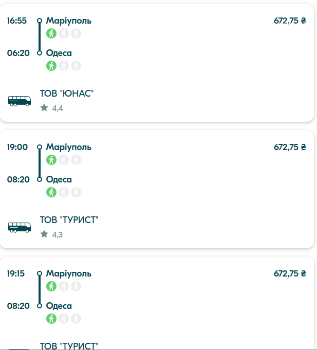 Из Мариуполя в Харьков и Одессу. Как и за сколько доехать в разные города Украины, фото-2