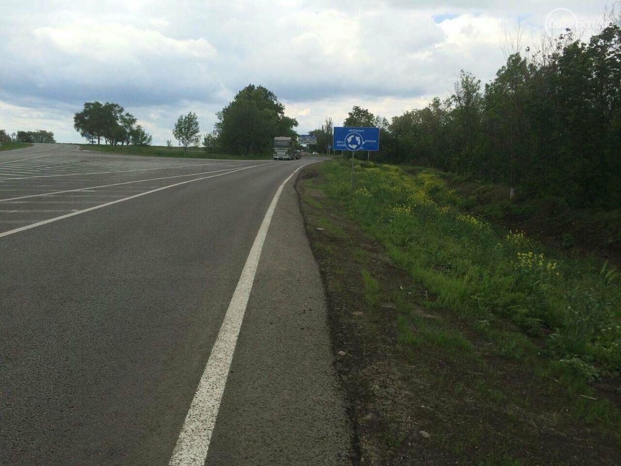 """""""Убивают трассу!"""" Горожане жалуются на фуры на отремонтированной дороге Мариуполь - Запорожье, - ФОТО, фото-3"""
