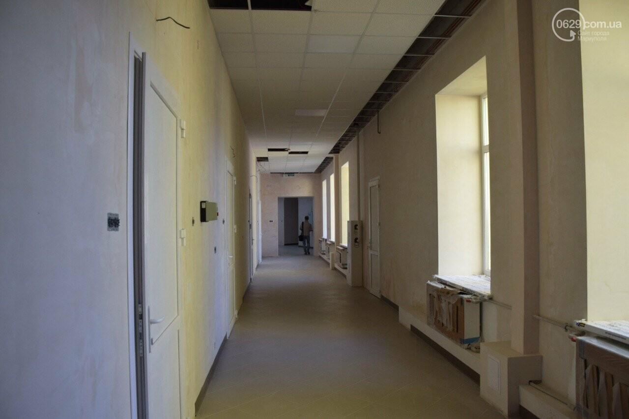Ремонт длиной в 3 года. Детскую хирургию в Мариуполе обещают открыть осенью, - ФОТОРЕПОРТАЖ+ВИДЕО, фото-14