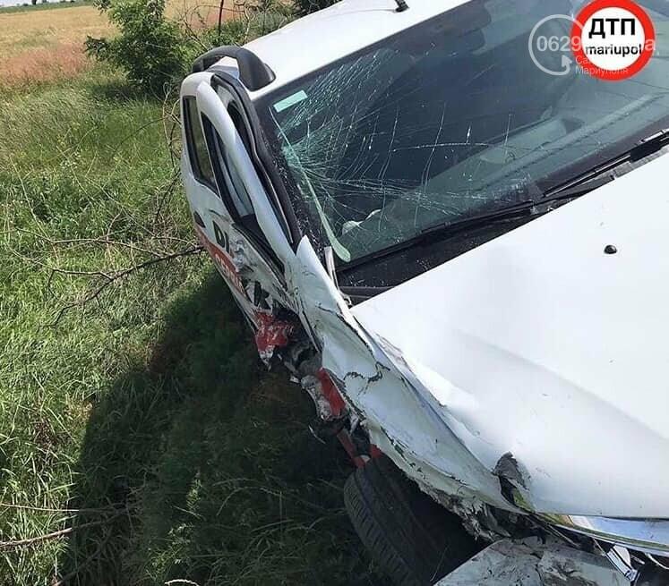 В аварии на трассе Мангуш - Урзуф пострадали двое детей, - ФОТО, фото-5