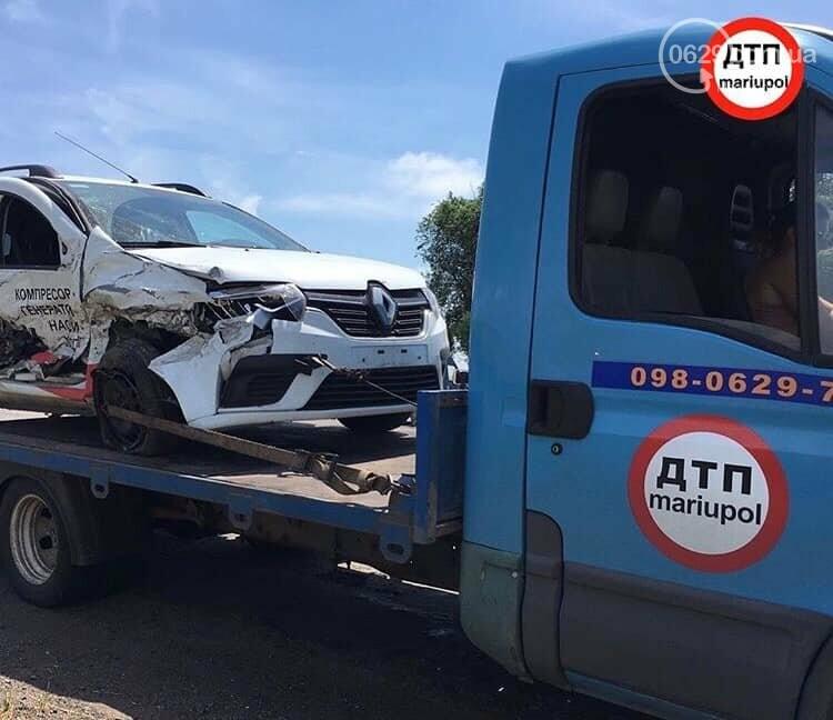 В аварии на трассе Мангуш - Урзуф пострадали двое детей, - ФОТО, фото-4