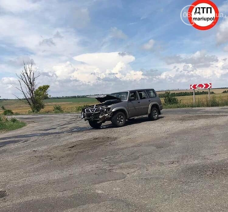В аварии на трассе Мангуш - Урзуф пострадали двое детей, - ФОТО, фото-2