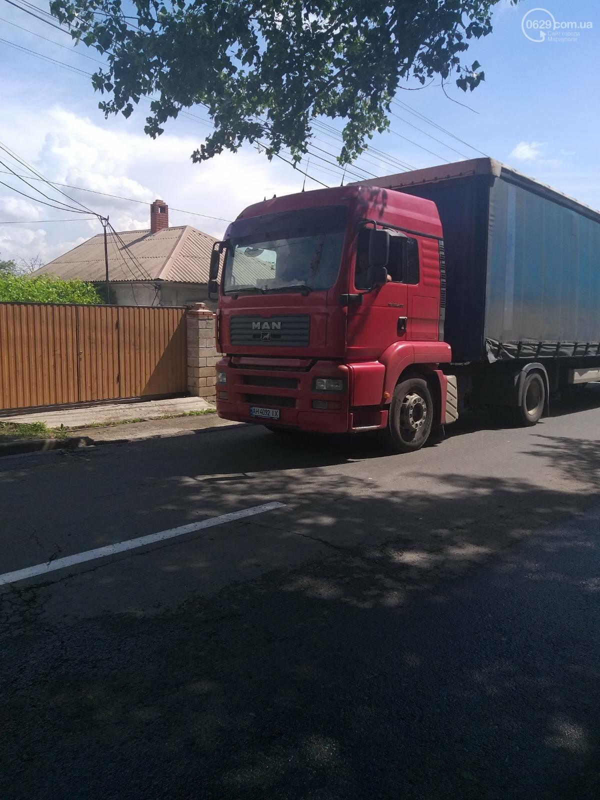 На ММКИ опровергли информацию о том, что транспорт предприятия разрушает улицу Бахмутскую, фото-1