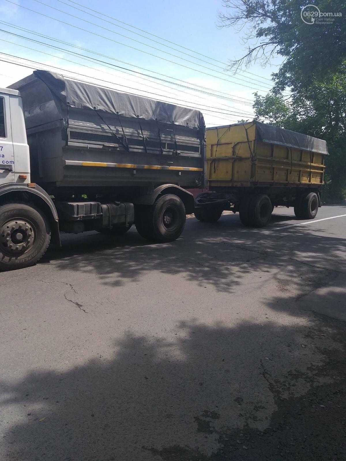 На ММКИ опровергли информацию о том, что транспорт предприятия разрушает улицу Бахмутскую, фото-3
