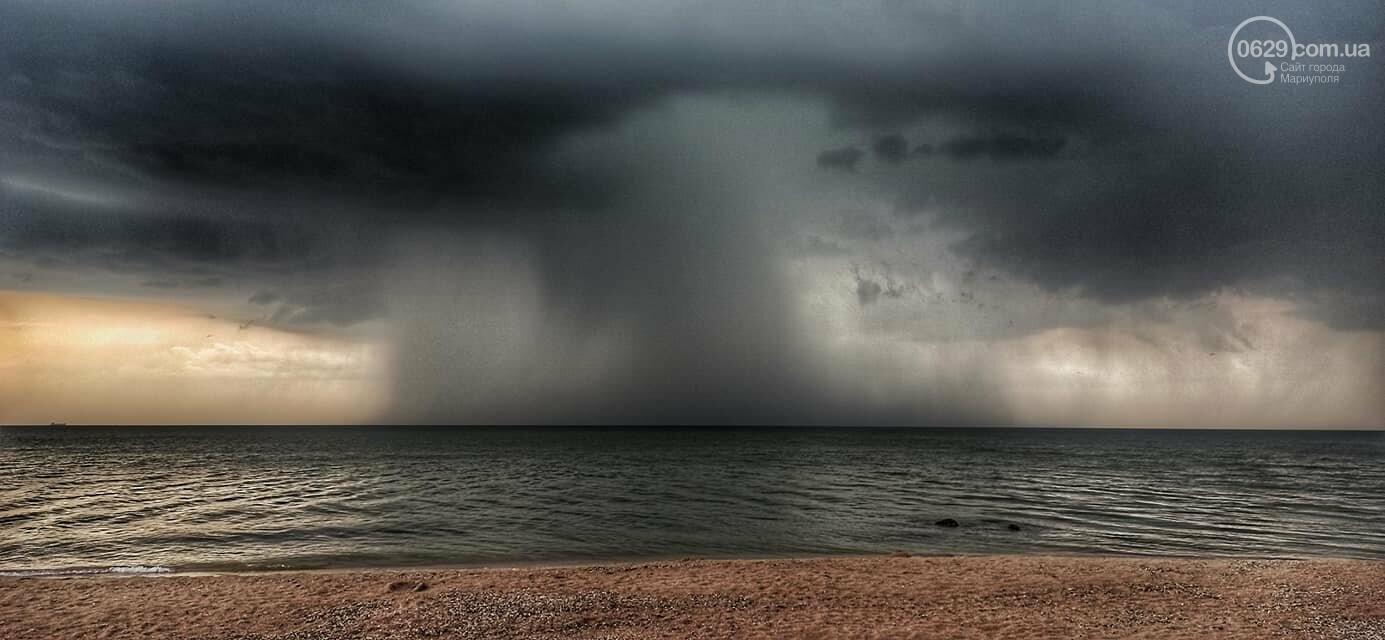 Град, ливень и молния. На побережье Азовского моря обрушилась непогода, - ФОТО, ВИДЕО, фото-5