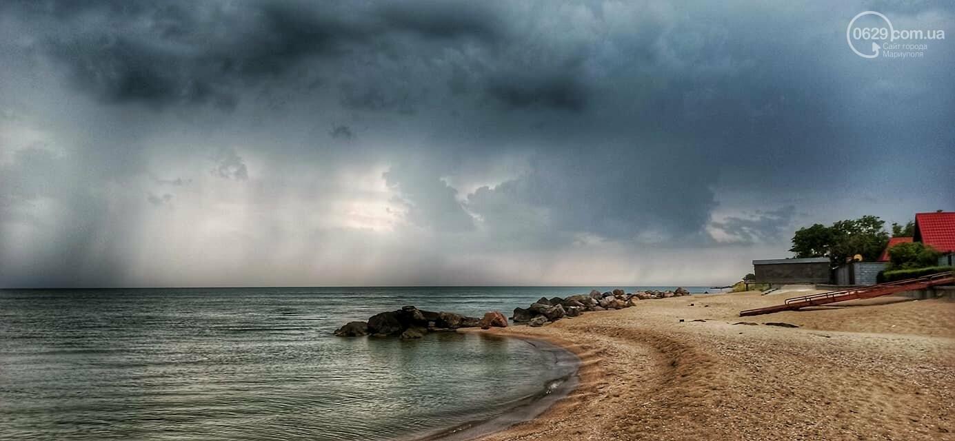 Град, ливень и молния. На побережье Азовского моря обрушилась непогода, - ФОТО, ВИДЕО, фото-3