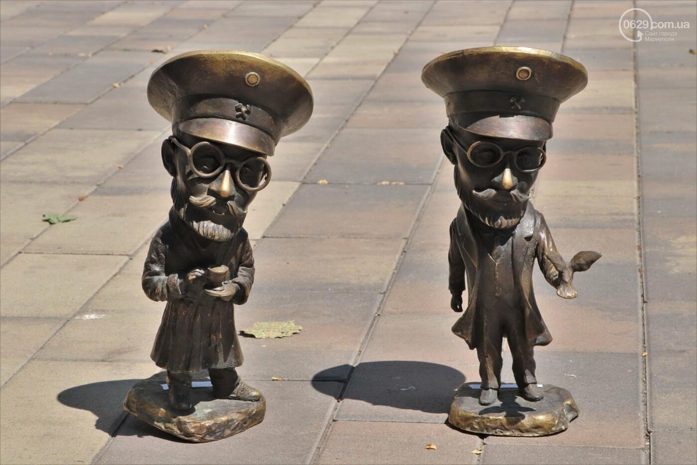 Новые места для селфи! Мариуполь украсили мини-скульптуры, - ФОТО, ВИДЕО, фото-15