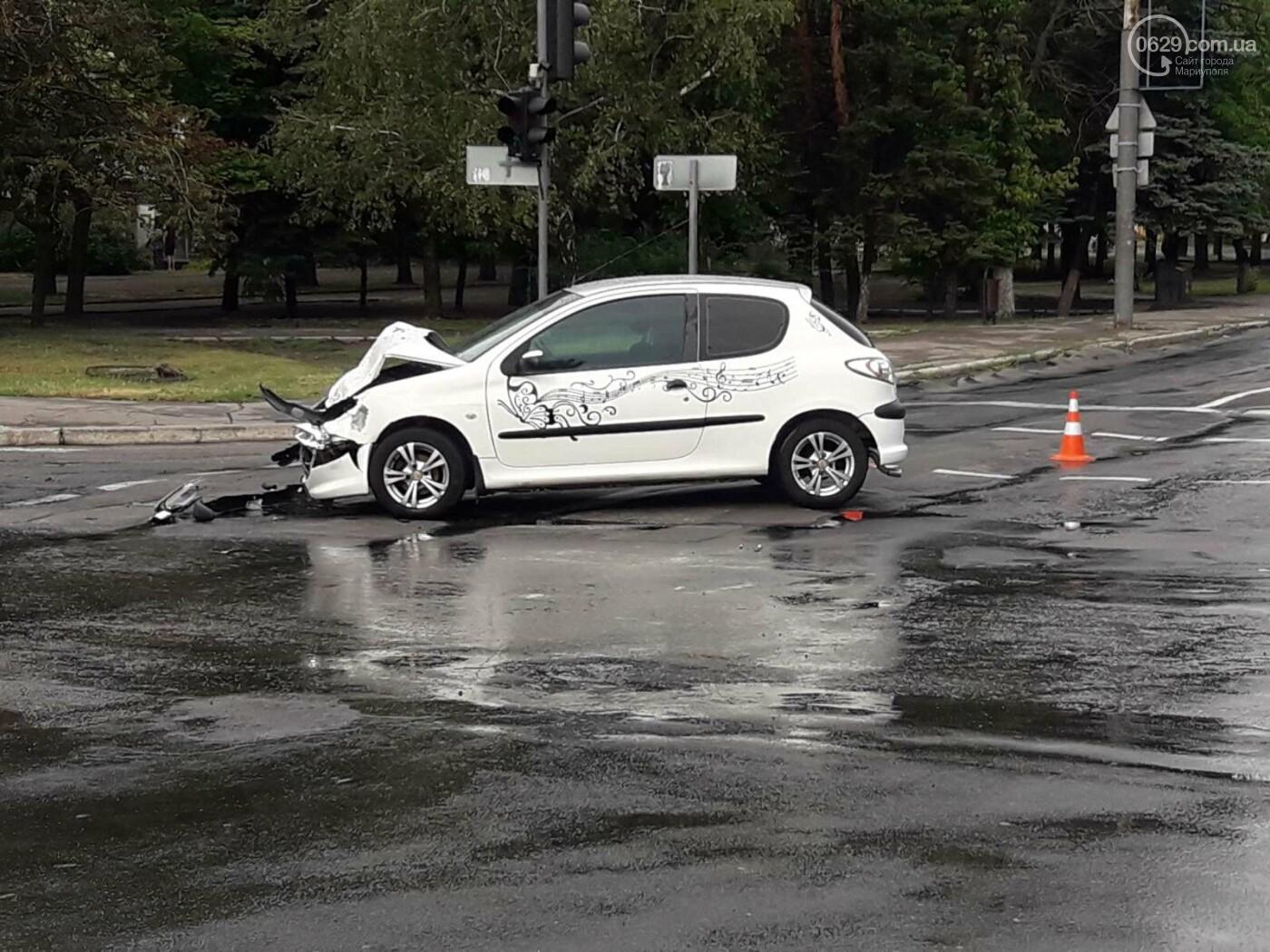 На Мариуполь обрушился ливень: транспорт плыл по дорогам,- ФОТО, фото-15