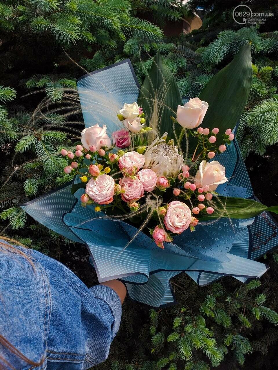 Изысканные, стильные букеты цветов с доставкой от сети салонов LUXE, фото-18
