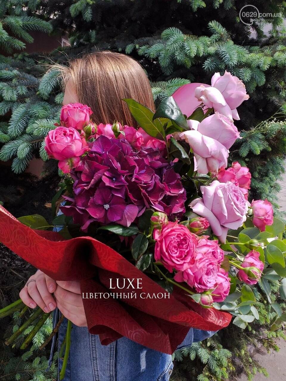 Изысканные, стильные букеты цветов с доставкой от сети салонов LUXE, фото-22
