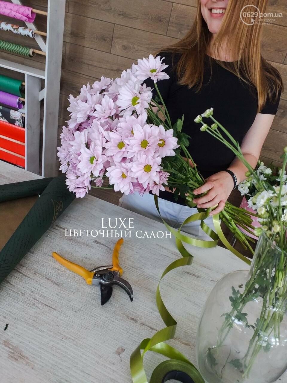 Изысканные, стильные букеты цветов с доставкой от сети салонов LUXE, фото-21