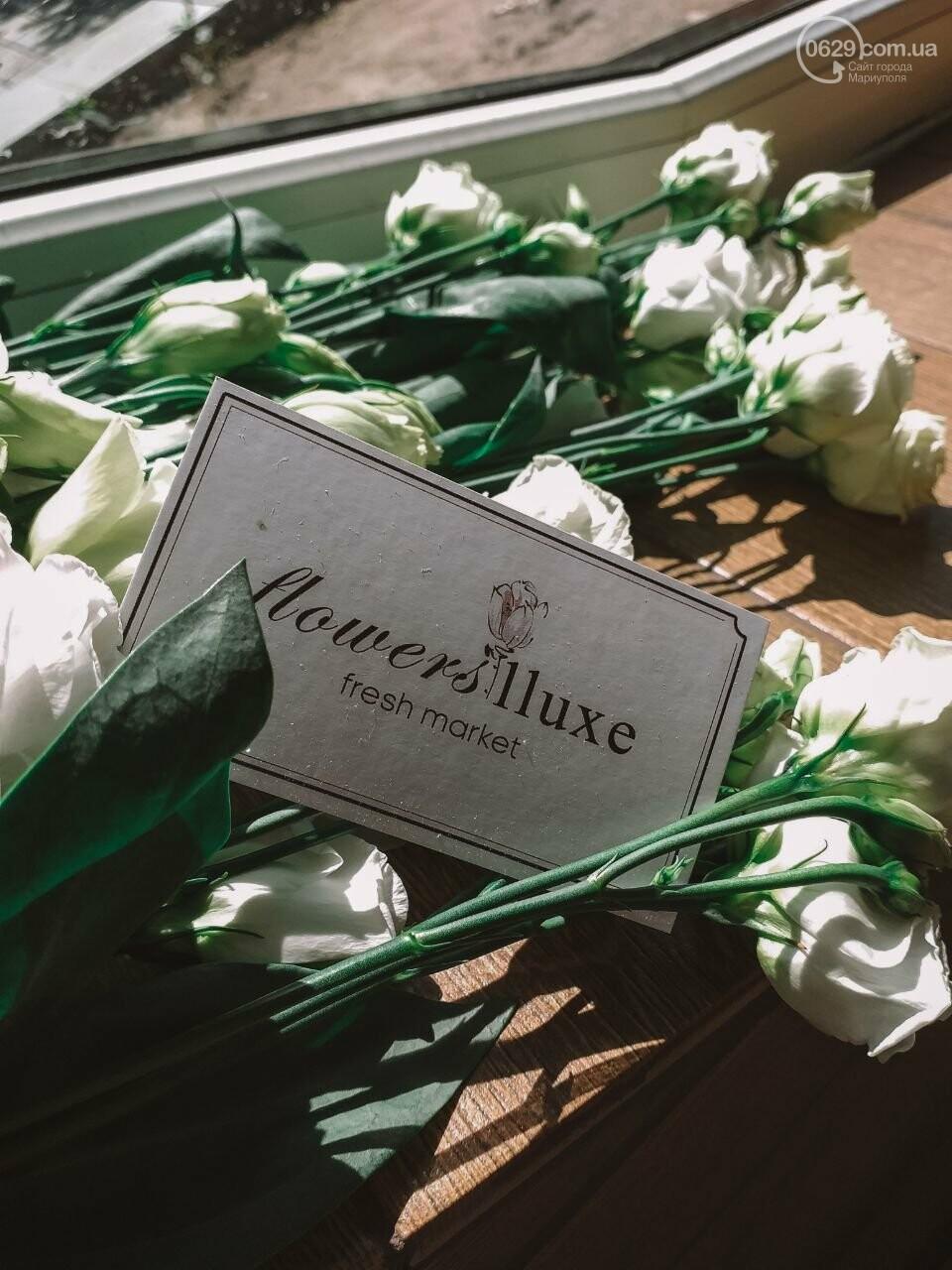 Изысканные, стильные букеты цветов с доставкой от сети салонов LUXE, фото-24