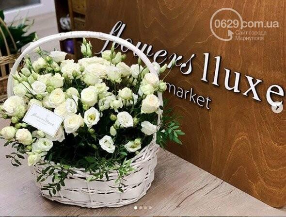 Изысканные, стильные букеты цветов с доставкой от сети салонов LUXE, фото-14