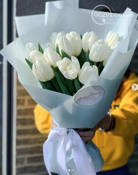 Изысканные, стильные букеты цветов с доставкой от сети салонов LUXE, фото-13