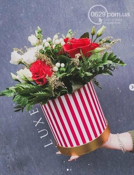 Изысканные, стильные букеты цветов с доставкой от сети салонов LUXE, фото-7