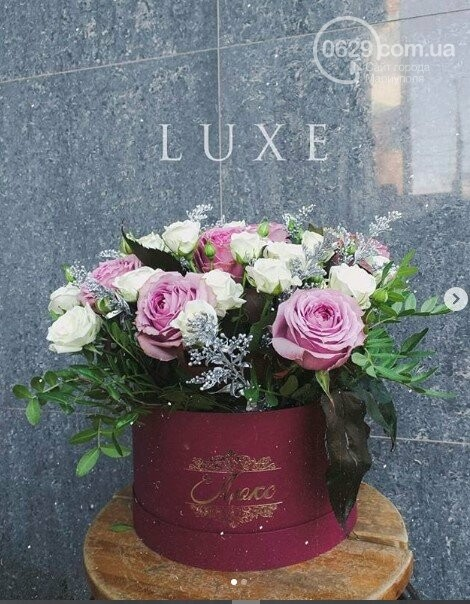 Изысканные, стильные букеты цветов с доставкой от сети салонов LUXE, фото-4